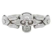 Textured Skull Ring