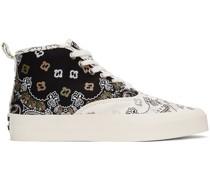 & Bandana High-Top Sneaker