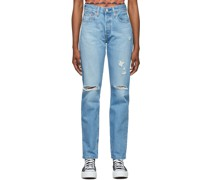 Ripped 501 Original Fit Jeans
