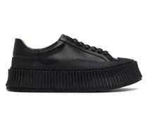 Leather Platform Sneaker