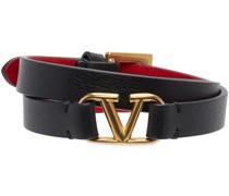 & V Double Strap Armband