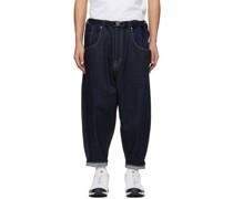Deformed Sarouel Jeans