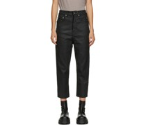 Cropped Collapse Jeans