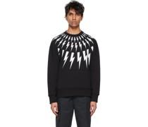 & Fair-Isle Thunderbolt Sweatshirt