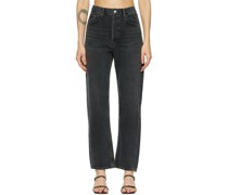 90's Mid-Rise Loose Fit Jeans
