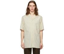 G Stripe Short Sleeve Hemd