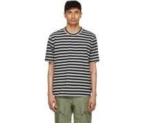 & Horizontal Stripe Tshirt