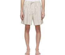 Striped Pyjamahorts