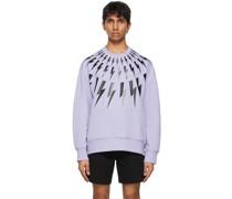 Fair-Isle Thunderbolt Sweatshirt