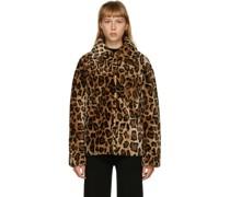 Leopard Wolljacke