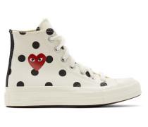 Converse Edition Polka Dot Heart Chuck 70 High Sneaker