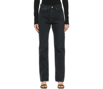 Lana Low-Rise Vintage Straight Jeans