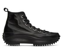 Leather Run Star Hike High-Top Sneaker