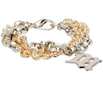 & Chain Monogram Armband