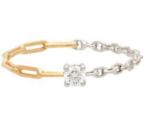 & Diamond Solitaire Ring