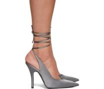 Silk Venus Slingback Heel