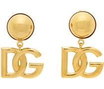 'DG' Clip-On Ohrringe