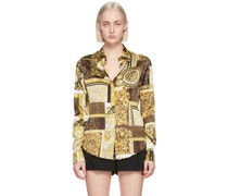 & Silk Barocco Patchwork Hemd