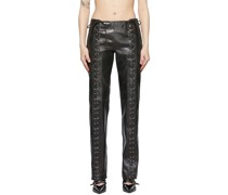 Leather Christina Hose