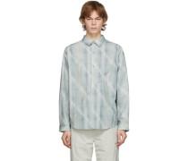 Intervein Panelled Shirt