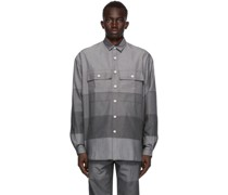 Paneled Over Shirt