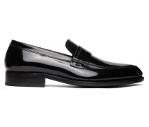 Shiny Leather Loafer