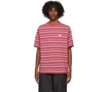 Heather Stripe Tshirt
