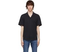 Cotton Knit Avery Kurzarm Hemd / Bluse