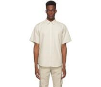 Micro Texture Osvald Short Sleeve Hemd