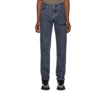 Embroidered Masc Hi Straight Jeans