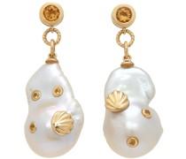 & Bo s Seashell Histoire Ohrringe