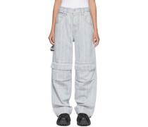 Striped Max Jeans