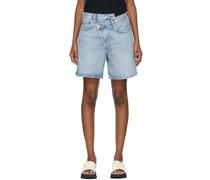 Criss Cross Upsized Shorts