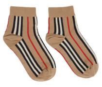 Intarsia Ankle Socke