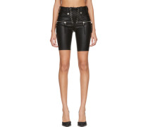 Plonge Leather Corsage Short