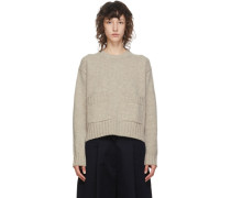 Wool Nieto Cropped Pullover