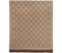 Jacquard Wool GG Schal