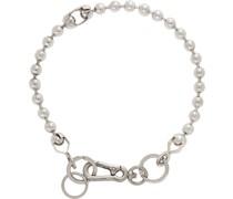 Broken Ball Chain Halsband