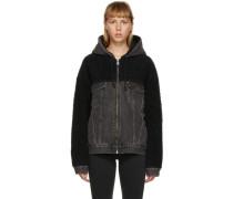 Sherpa Hooded Hybrid Jacke