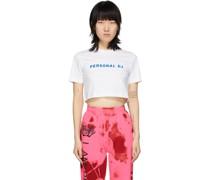 Cropped 'Personal DJ' Tshirt