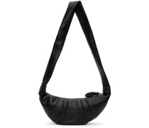 Nappa Leather Small Croissant Tasche