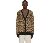 Tan Leopard Jungle Cardigan