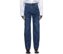 Ruffle Pocket Jeans