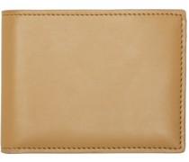 Tan Standard Brieftasche