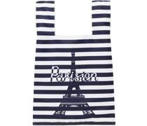 & Striped 'Parisien' Tower Tote