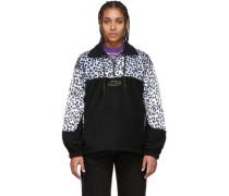 Leopard Half-Zip Sweatshirt