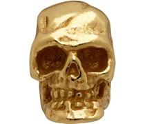 Tiny Skull Single Ohrring