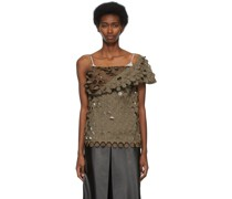 Wool Cut-Outs Bluse
