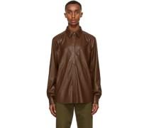 Vegan Leather Declan Shirt