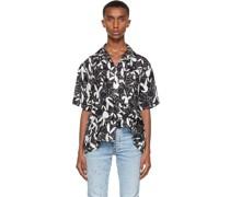 Playboy Edition Silk All Over Kurzarm Hemd / Bluse